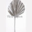 Palm Spear Round Silver - Festive Decoration